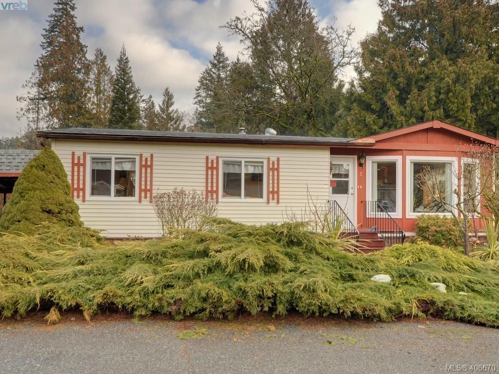 Main Photo: 5 2607 Selwyn Rd in VICTORIA: La Mill Hill Manufactured Home for sale (Langford)  : MLS®# 808248