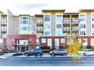 "Photo 1: 206 15956 86A Avenue in Surrey: Fleetwood Tynehead Condo for sale in ""Ascend"" : MLS®# R2030570"