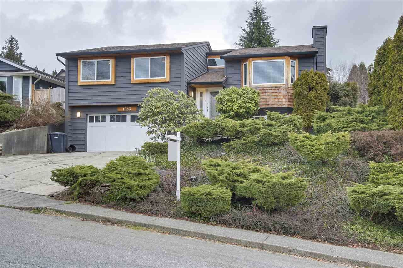 Main Photo: 1283 TERCEL Court in Coquitlam: Upper Eagle Ridge House for sale : MLS®# R2244564
