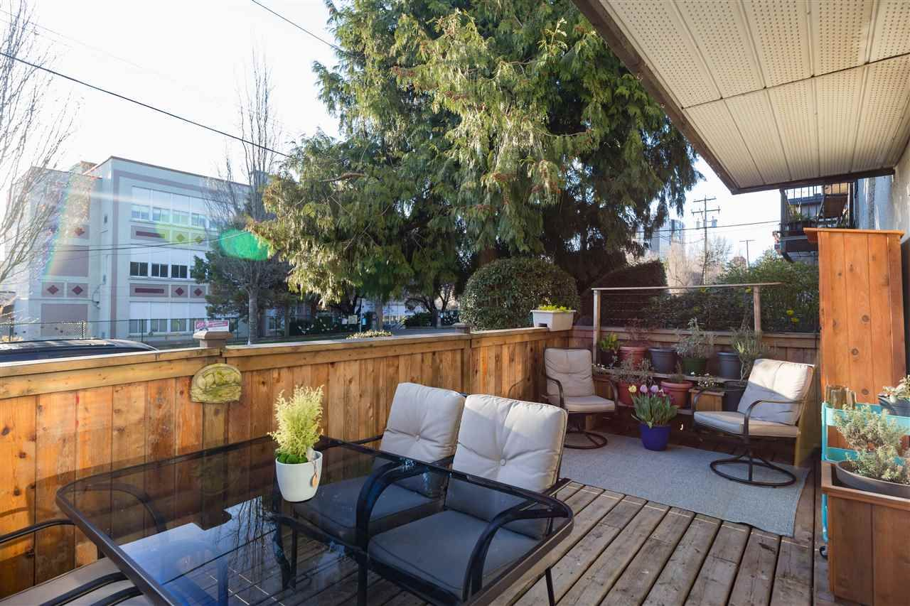 """Main Photo: 103 1515 E 5TH Avenue in Vancouver: Grandview Woodland Condo for sale in """"WOODLAND PLACE"""" (Vancouver East)  : MLS®# R2565904"""