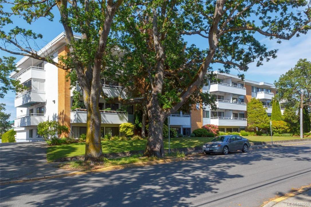 Main Photo: 314 2100 Granite St in Oak Bay: OB South Oak Bay Condo for sale : MLS®# 840259
