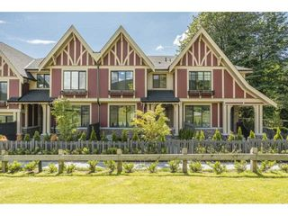 Photo 1: 49 3306 PRINCETON Avenue in Coquitlam: Burke Mountain Townhouse for sale : MLS®# R2590554