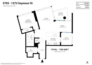 Photo 31: 3705 1372 SEYMOUR Street in Vancouver: Downtown VW Condo for sale (Vancouver West)  : MLS®# R2561262