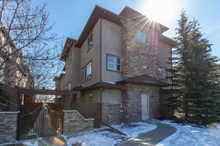 Main Photo: 201 1312 Russell Road NE in Calgary: Renfrew Row/Townhouse for sale : MLS®# A1088063