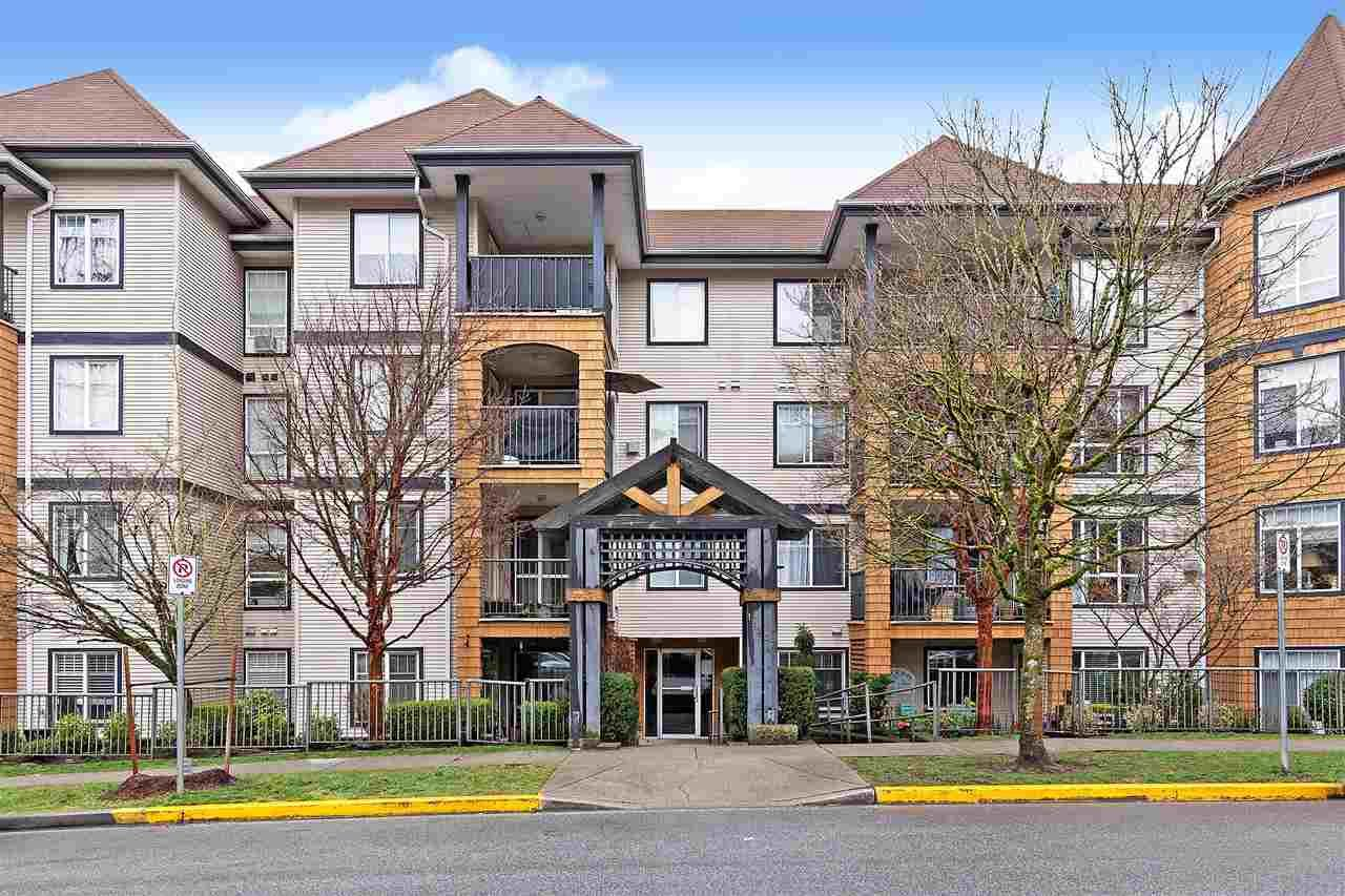 "Main Photo: 112 12207 224 Street in Maple Ridge: West Central Condo for sale in ""The Evergreen"" : MLS®# R2540207"