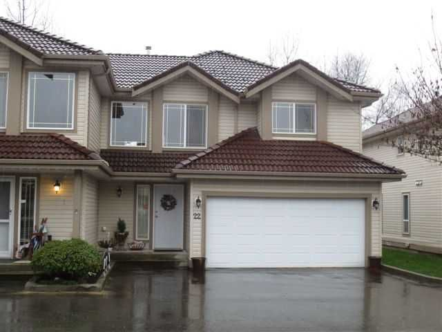 Main Photo: A22 3075 Skeena in Port Coquitlam: Townhouse for sale : MLS®# v991528
