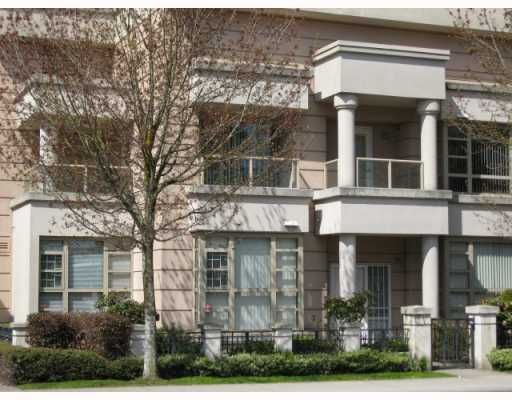 """Main Photo: 1 6119 COONEY Road in Richmond: Brighouse Townhouse for sale in """"ROSARIO GARDEN"""" : MLS®# V763268"""