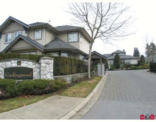 "Photo 1: 7 8888 151ST Street in Surrey: Bear Creek Green Timbers Townhouse for sale in ""CARLINGWOOD"" : MLS®# F2903191"