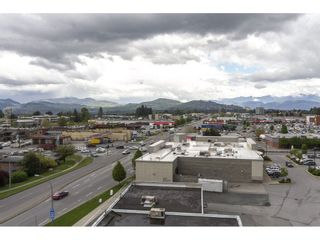 """Photo 19: 803 32330 S FRASER Way in Abbotsford: Abbotsford West Condo for sale in """"Town Centre Tower"""" : MLS®# R2163244"""