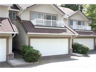 """Photo 1: 3422 AMBERLY Place in Vancouver: Champlain Heights Townhouse for sale in """"TIFFANY RIDGE"""" (Vancouver East)  : MLS®# V902701"""