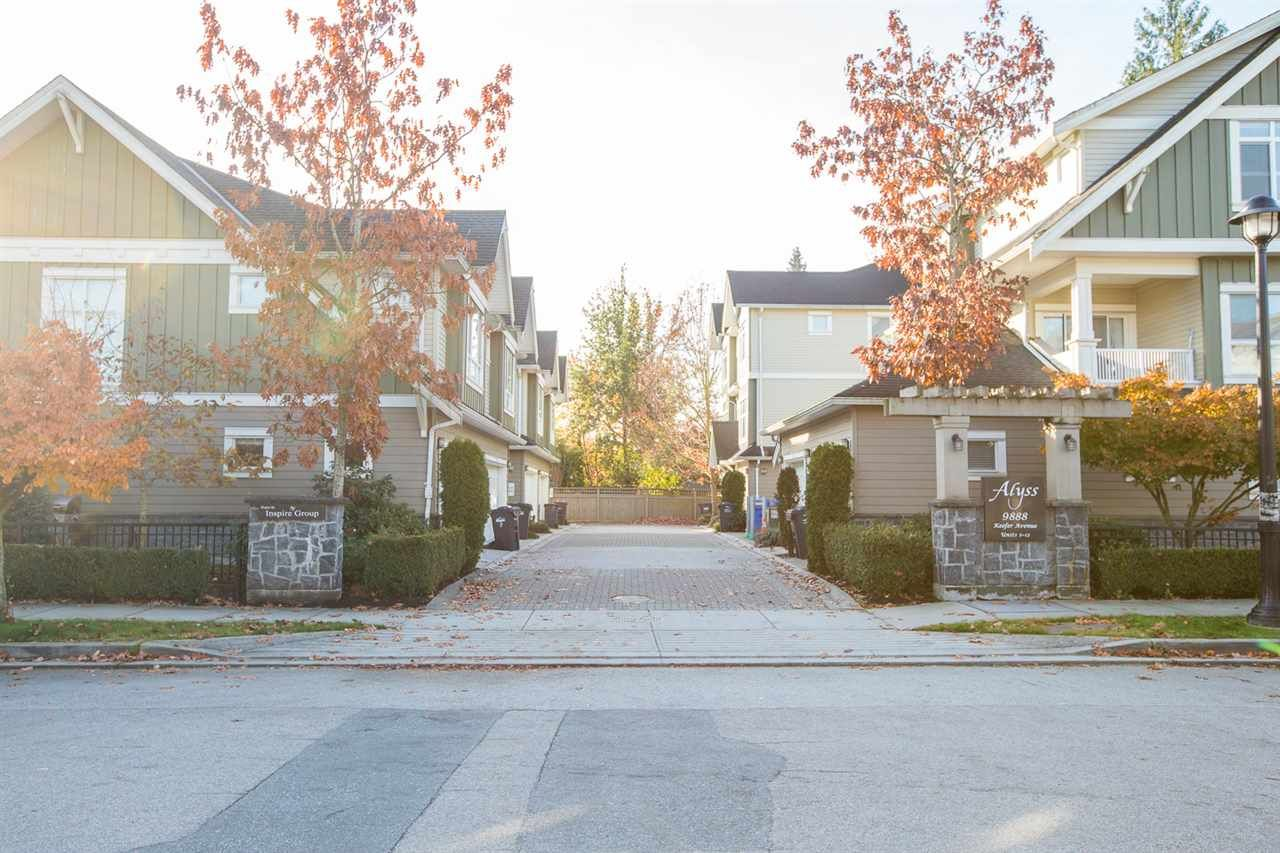 """Photo 16: Photos: 12 9888 KEEFER Avenue in Richmond: McLennan North Townhouse for sale in """"ALYSS"""" : MLS®# R2430454"""