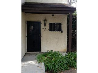Photo 2: CITY HEIGHTS Townhouse for sale : 2 bedrooms : 3420 39th Street #B in San Diego