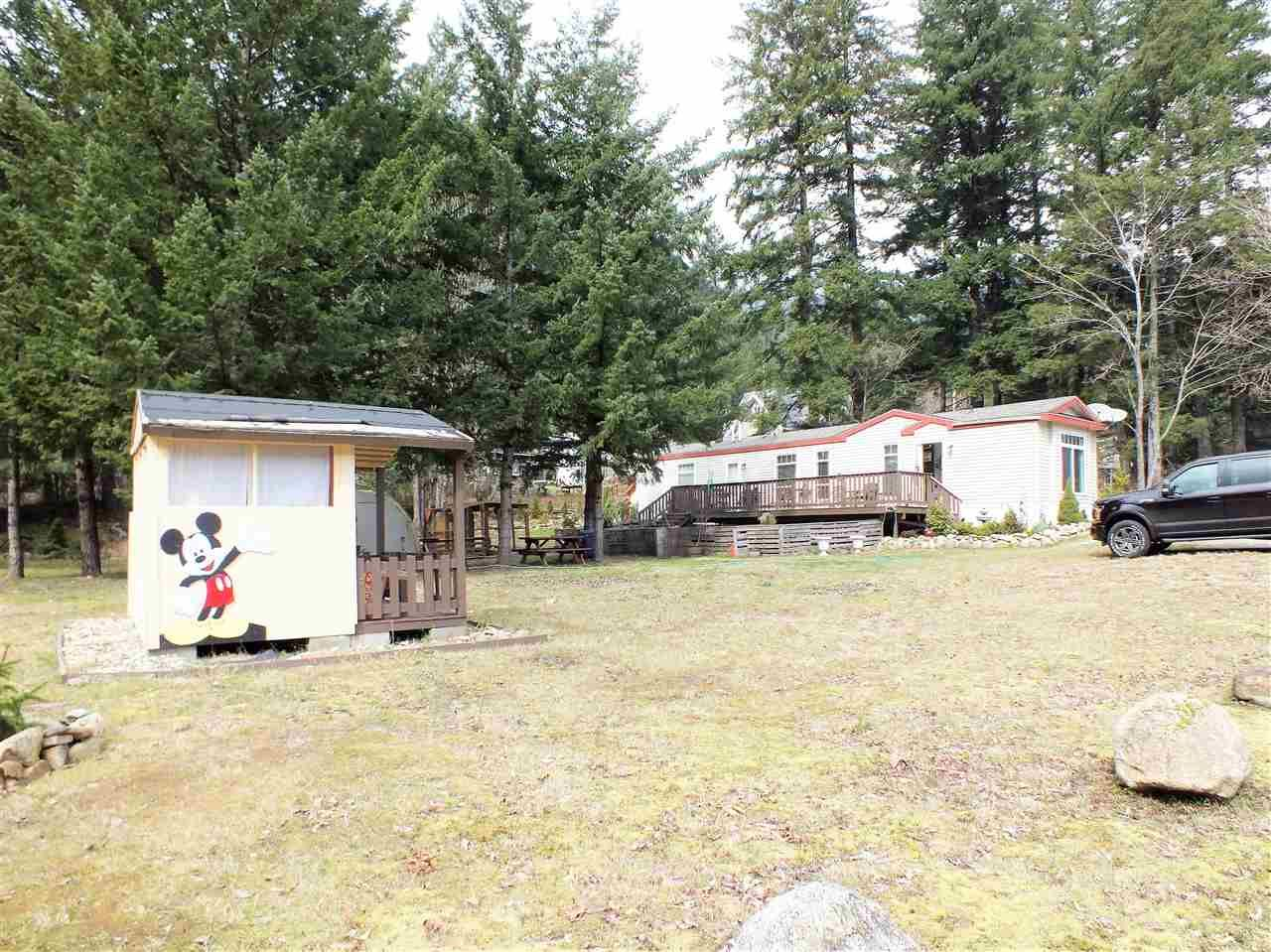 Main Photo: 64971 REGENT Street in Yale: Yale - Dogwood Valley Manufactured Home for sale (Hope)  : MLS®# R2447529