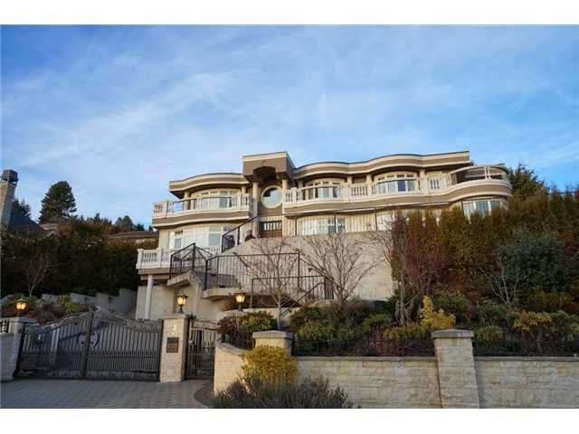 Main Photo: 1325 CAMRIDGE RD in West Vancouver: Chartwell House for sale : MLS®# V1039666