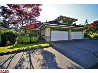 """Photo 1: 102 4001 OLD CLAYBURN Road in Abbotsford: Abbotsford East Townhouse for sale in """"CEDAR SPRINGS"""" : MLS®# F1306251"""
