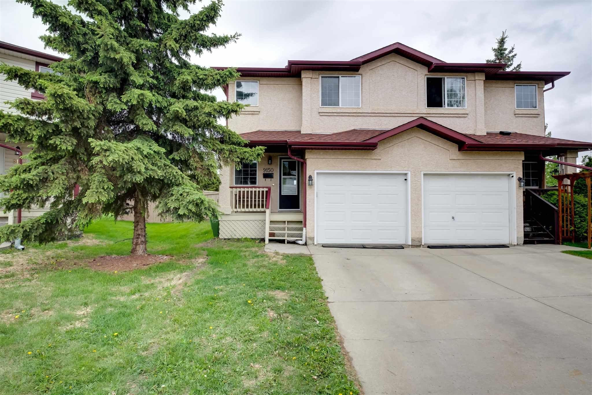 Main Photo: 9150 166 Avenue in Edmonton: Zone 28 House Half Duplex for sale : MLS®# E4246760