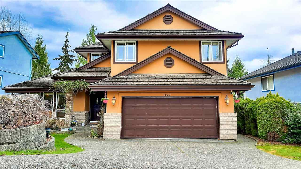 Main Photo: 1545 EAGLE MOUNTAIN Drive in Coquitlam: Westwood Plateau House for sale : MLS®# R2593011