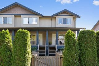 "Photo 1: 3 1268 RIVERSIDE Drive in Port Coquitlam: Riverwood Townhouse for sale in ""SOMERSTON LANE"" : MLS®# R2205211"