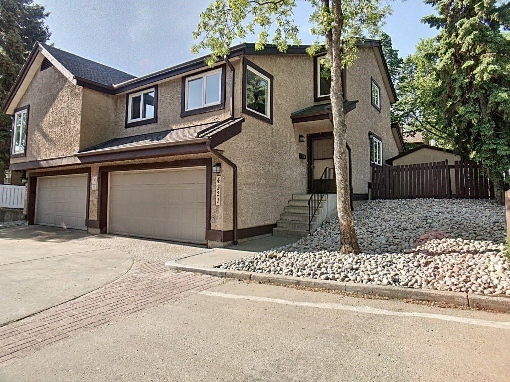 Main Photo: 4321 Riverbend Road in Edmonton: Zone 14 Townhouse for sale : MLS®# E4248105