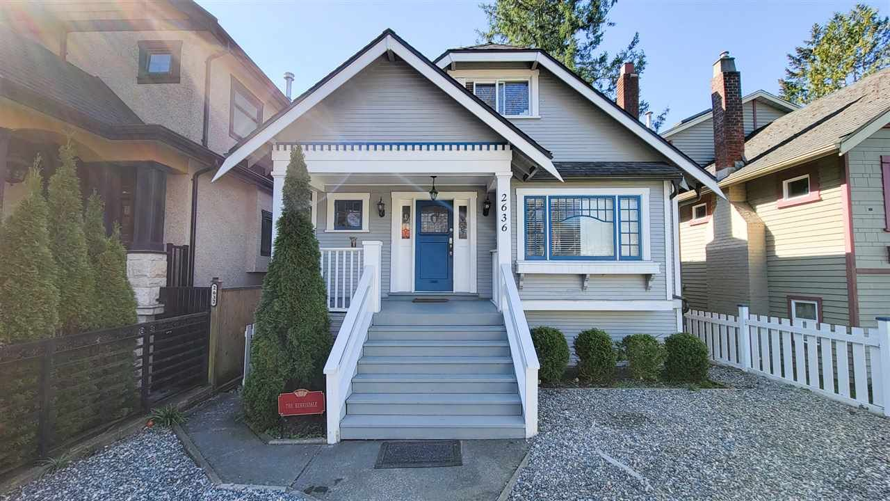 Main Photo: 2636 W 41ST Avenue in Vancouver: Kerrisdale House for sale (Vancouver West)  : MLS®# R2565278