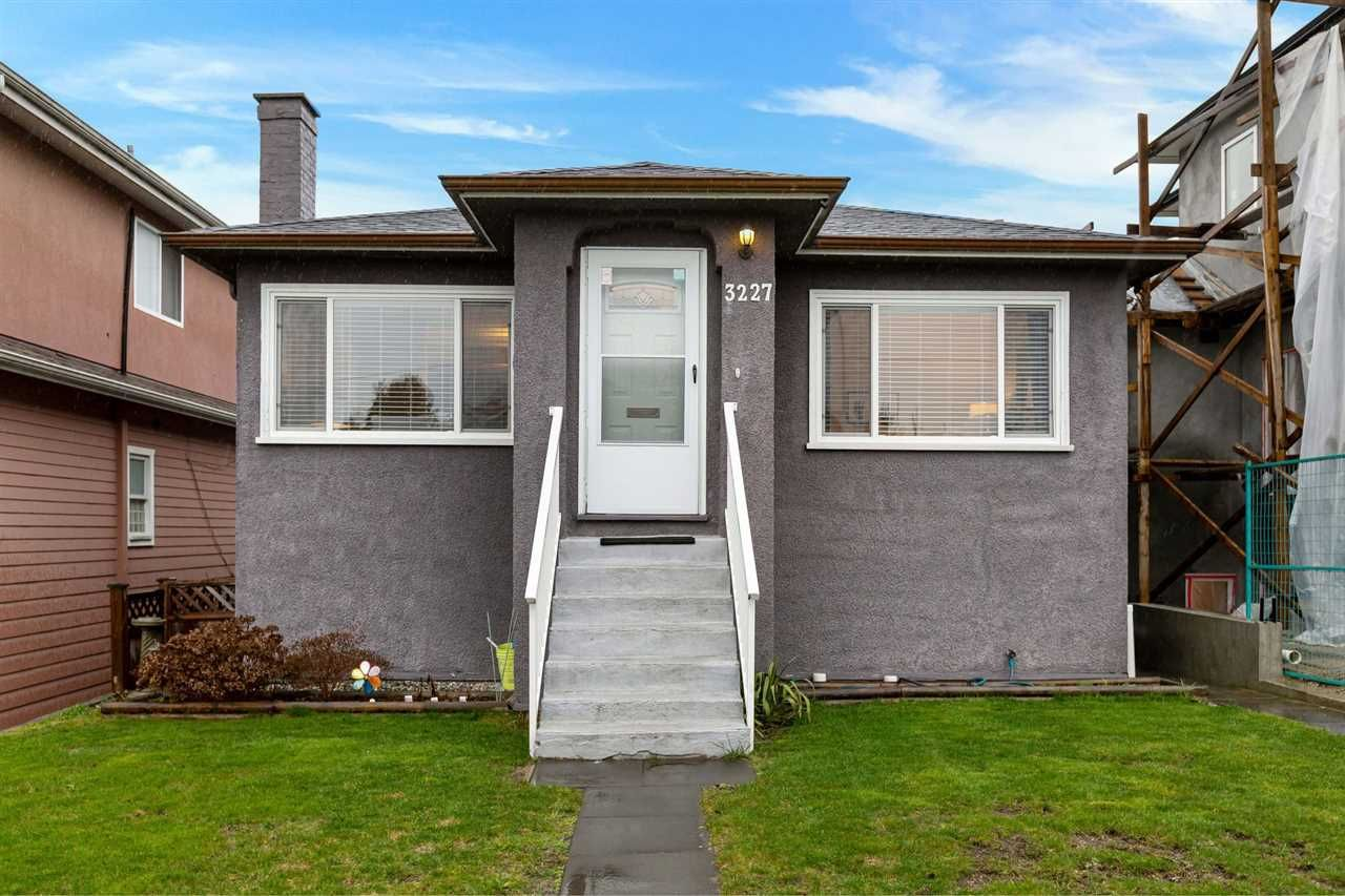 Main Photo: 3227 E 29TH Avenue in Vancouver: Renfrew Heights House for sale (Vancouver East)  : MLS®# R2535170