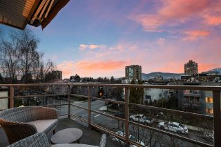 """Photo 2: 401 1586 W 11TH Avenue in Vancouver: Fairview VW Condo for sale in """"Torrey Pines"""" (Vancouver West)  : MLS®# R2561085"""