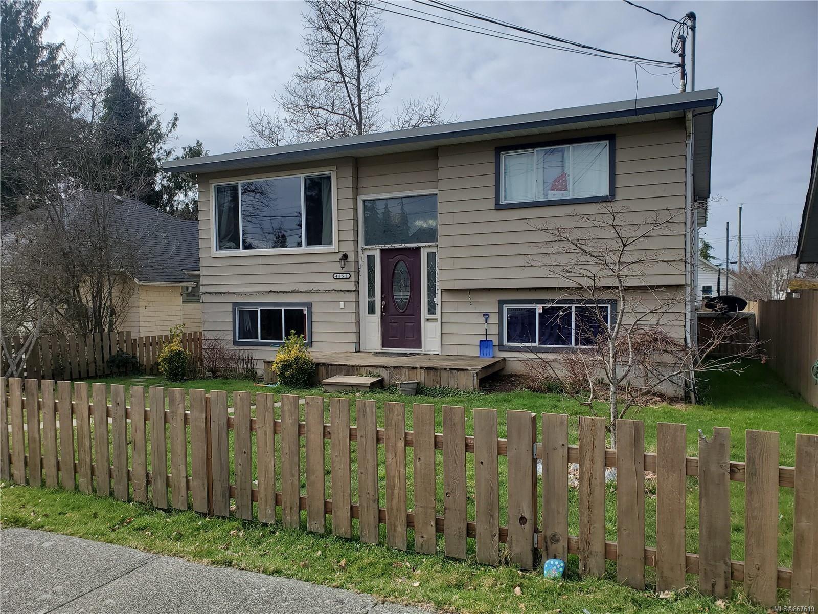 Main Photo: 4852 David St in : PA Port Alberni House for sale (Port Alberni)  : MLS®# 867619