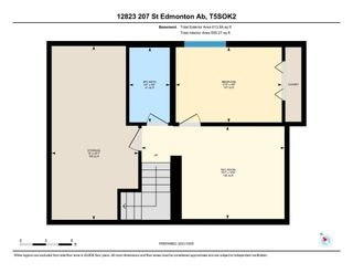 Photo 23: 12823 207 Street in Edmonton: Zone 59 House Half Duplex for sale : MLS®# E4265509