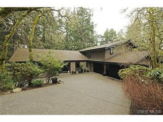 Photo 1: 4449 Sunnywood Place in VICTORIA: SE Broadmead Residential for sale (Saanich East)  : MLS®# 332321