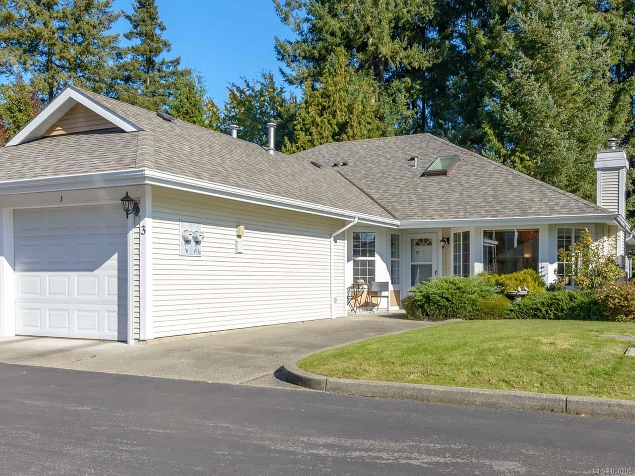 Main Photo: 3 2010 20th St in COURTENAY: CV Courtenay City Row/Townhouse for sale (Comox Valley)  : MLS®# 800200