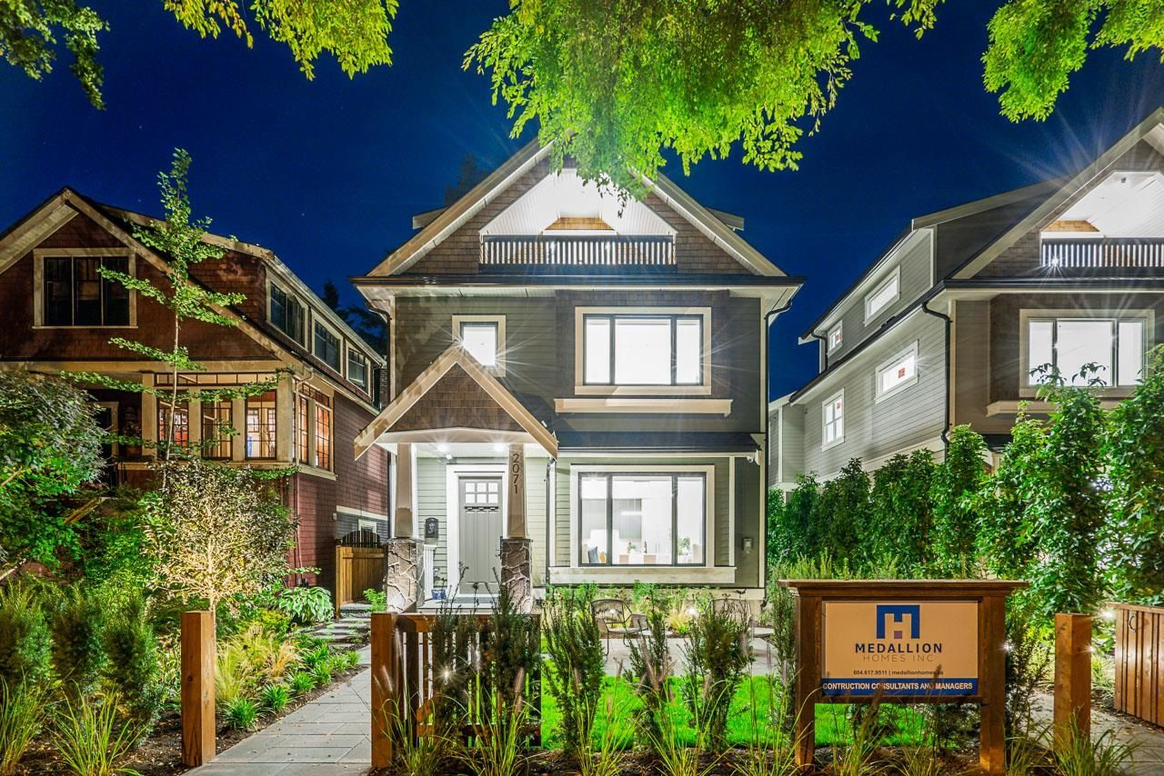 Main Photo: 2071 E 6TH Avenue in Vancouver: Grandview Woodland 1/2 Duplex for sale (Vancouver East)  : MLS®# R2619593