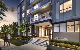 """Photo 1: 101 5693 ELIZABETH Street in Vancouver: Cambie Condo for sale in """"THE PARKER"""" (Vancouver West)  : MLS®# R2548104"""