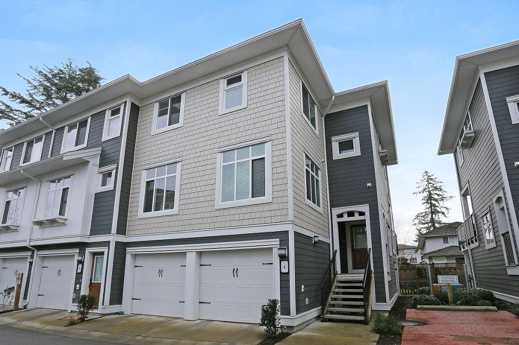 """Main Photo: 4 8433 164TH Street in Surrey: Fleetwood Tynehead Townhouse for sale in """"THE ENCORE AT MAPLE ON 164TH"""" : MLS®# R2023678"""