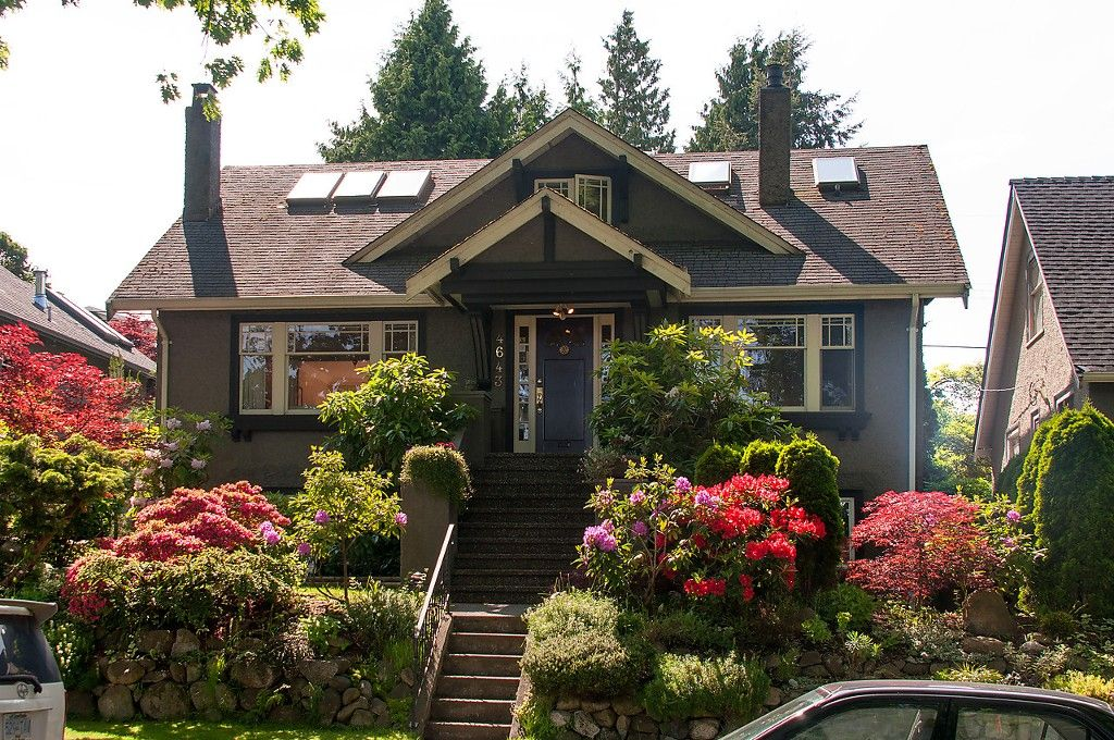 Main Photo: 4643 BLENHEIM Street in Vancouver: Dunbar House for sale (Vancouver West)  : MLS®# V1066543