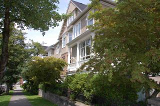 """Photo 1: 104 2588 ALDER Street in Vancouver: Fairview VW Condo for sale in """"BOLLERT PLACE"""" (Vancouver West)  : MLS®# R2158587"""