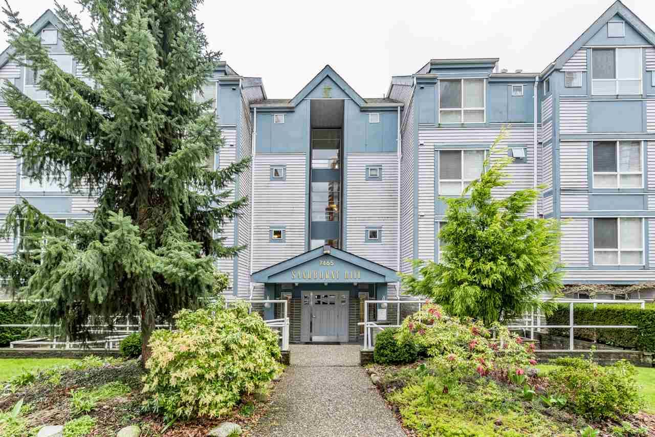 Main Photo: 211 7465 SANDBORNE Avenue in Burnaby: South Slope Condo for sale (Burnaby South)  : MLS®# R2145691
