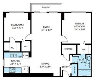 Photo 23: 607 10303 105 Street in Edmonton: Zone 12 Condo for sale : MLS®# E4244310