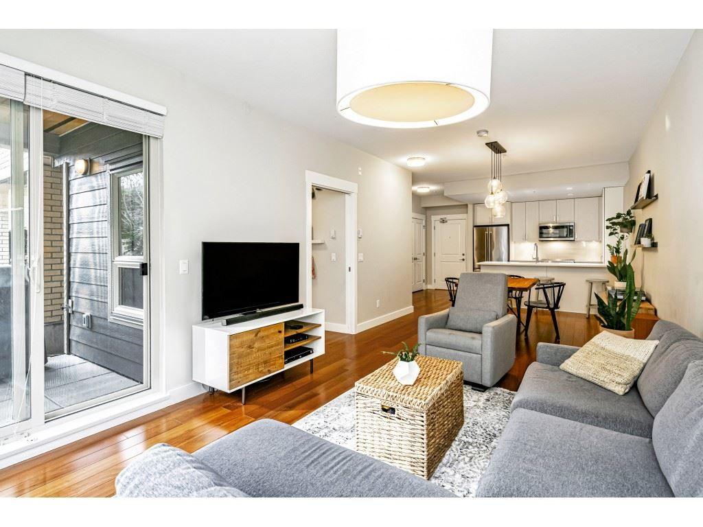 "Main Photo: 107 1166 54A Street in Delta: Tsawwassen Central Condo for sale in ""BRIO"" (Tsawwassen)  : MLS®# R2544260"