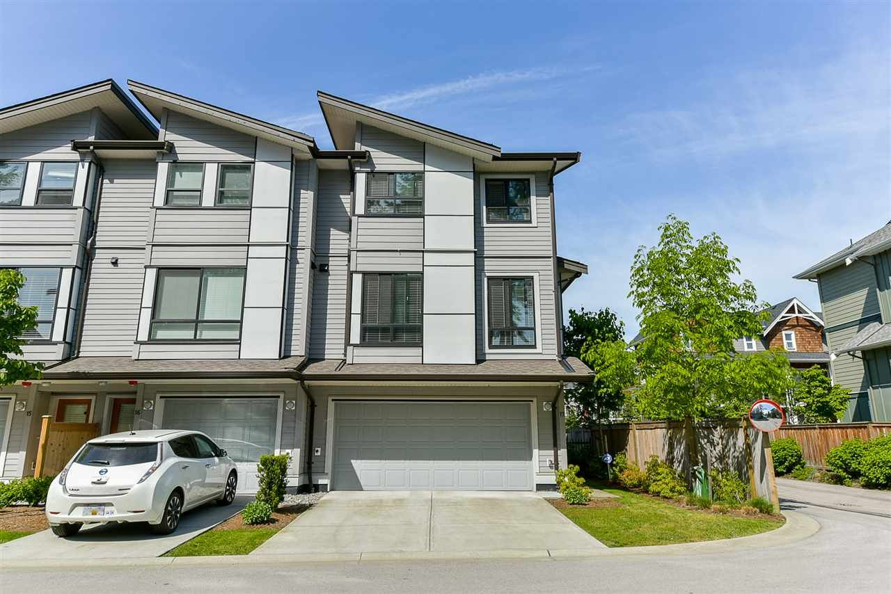 "Main Photo: 17 2139 PRAIRIE Avenue in Port Coquitlam: Glenwood PQ Townhouse for sale in ""WESTMOUNT PARK"" : MLS®# R2376811"