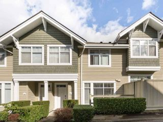 "Photo 1: 27 5240 OAKMOUNT Crescent in Burnaby: Oaklands Townhouse for sale in ""SANTA CLARA"" (Burnaby South)  : MLS®# R2542341"