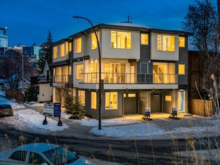Main Photo: 417 7 Street NW in Calgary: Sunnyside Row/Townhouse for sale : MLS®# A1063202