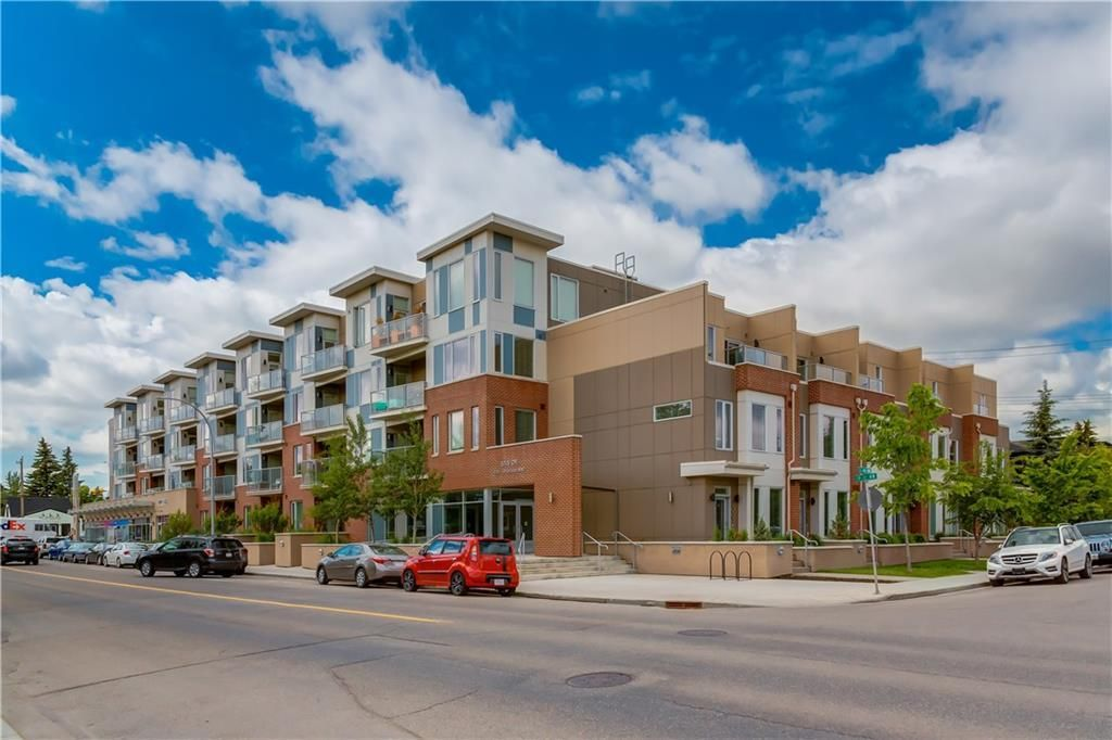 Main Photo: 315 119 19 Street NW in Calgary: West Hillhurst Apartment for sale : MLS®# C4254787