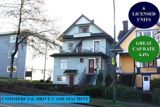 Photo 1: 1862 VENABLES Street in Vancouver: Grandview Woodland House for sale (Vancouver East)  : MLS®# R2530427