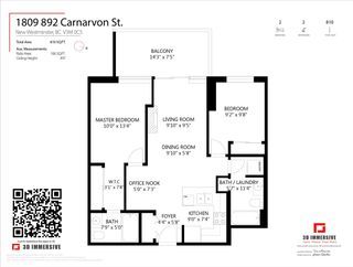 "Photo 30: 1809 892 CARNARVON Street in New Westminster: Downtown NW Condo for sale in ""Azure II"" : MLS®# R2539416"