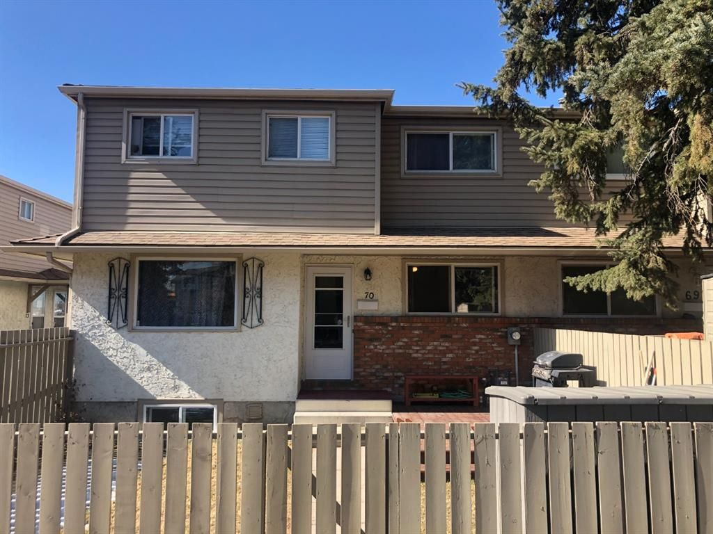 Main Photo: 70S 203 Lynnview Road SE in Calgary: Ogden Row/Townhouse for sale : MLS®# A1081373