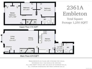 Photo 10: A 2361 EMBLETON Crescent in COURTENAY: CV Courtenay City Half Duplex for sale (Comox Valley)  : MLS®# 731264