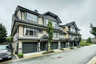 """Photo 1: 102 13819 232 Street in Maple Ridge: Silver Valley Townhouse for sale in """"Brighton"""" : MLS®# R2403992"""
