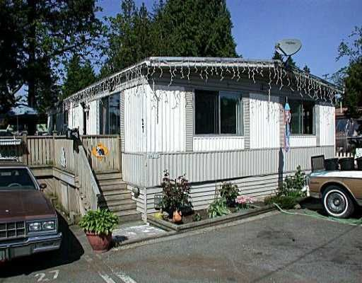 "Main Photo: 27 3178 HASTINGS ST in Port Coquiltam: Central Pt Coquitlam Manufactured Home for sale in ""LAZY RIVER"" (Port Coquitlam)  : MLS®# V533078"