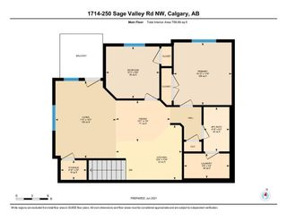 Photo 23: 1714 250 Sage Valley Road NW in Calgary: Sage Hill Row/Townhouse for sale : MLS®# A1120292