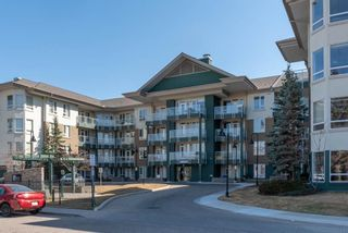 Photo 1: 112 3111 34 Avenue NW in Calgary: Varsity Apartment for sale : MLS®# A1095160